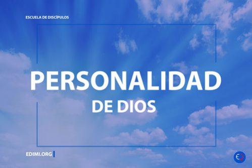Cursos Bíblicos - Personalidad de Dios